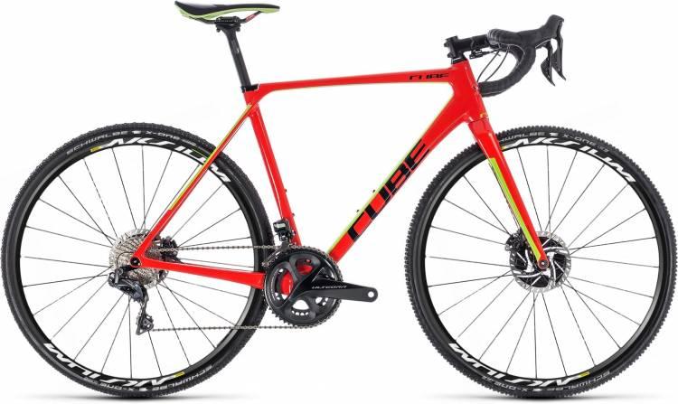 Cube Cross Race C:62 SLT Aksium red n green 2018 - Cyclocross