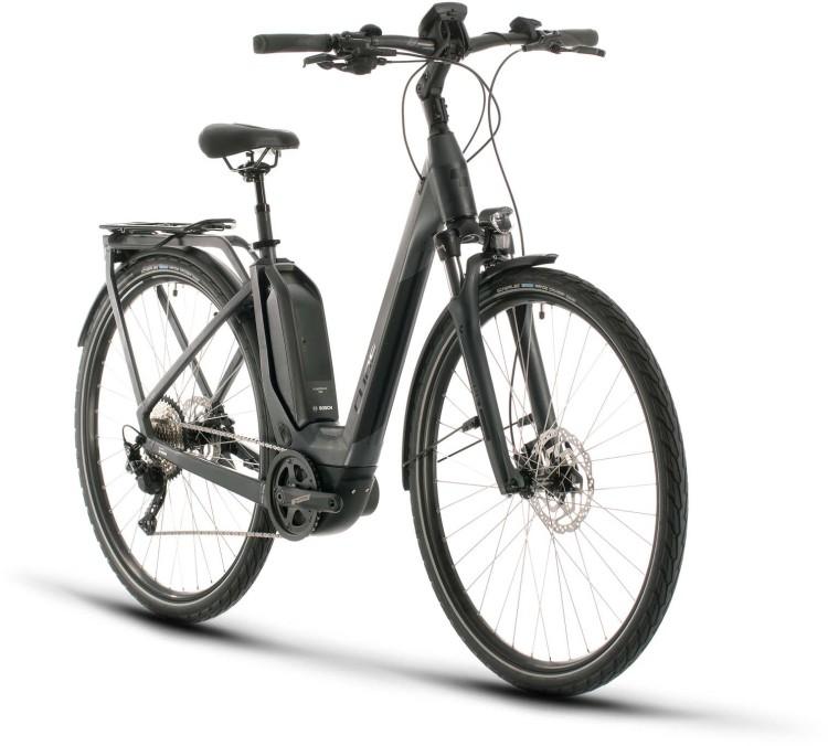 Cube Touring Hybrid Pro 500 iridium n black 2020 - E-Bike Trekkingrad Tiefeinsteiger