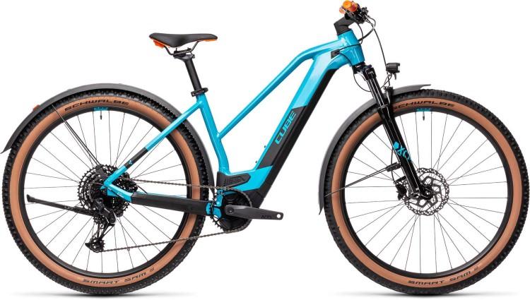 Cube Reaction Hybrid Pro 500 29 Allroad petrol n orange 2021 - E-Bike Hardtail Mountainbike Damen