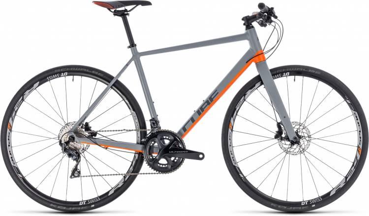 Cube SL Road SL grey n orange 2018 - Herren Fitnessrad