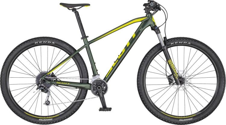 Scott Aspect 730 dk.green/yellow 2020