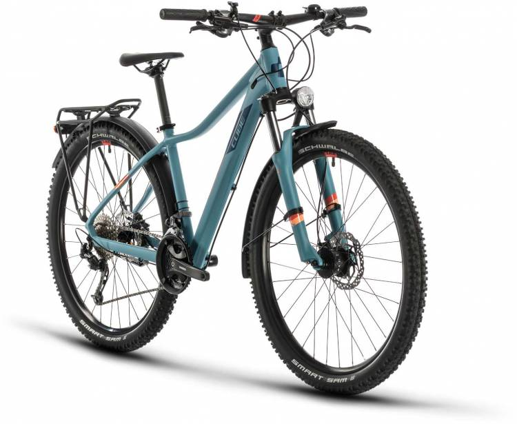 Cube Access WS Pro Allroad greyblue n apricot 2020 - Hardtail Mountainbike Damen