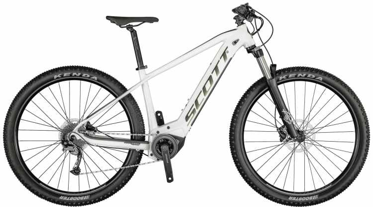 Scott Aspect eRIDE 950 silver white / black 2021 - E-Bike Hardtail Mountainbike