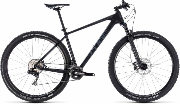 Cube Reaction C:62 ONE carbon n grey 2018 - Hardtail Mountainbike