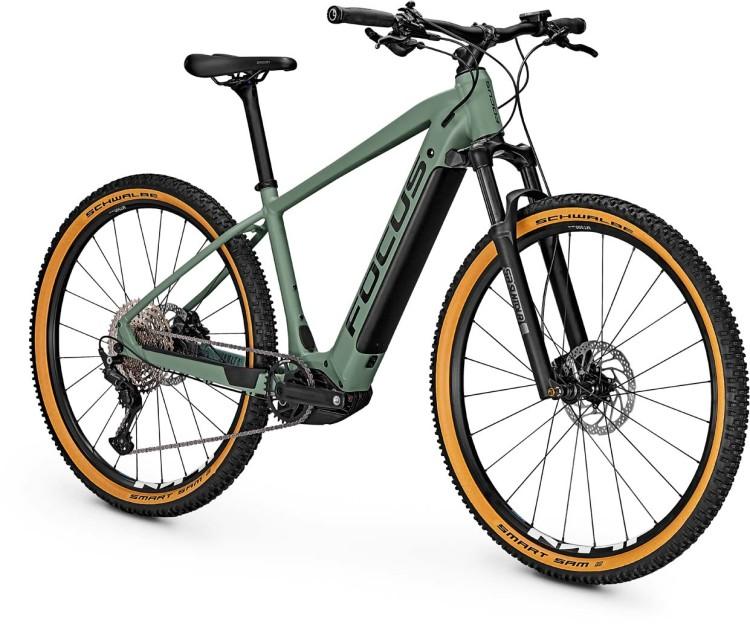 Focus Jarifa2 6.8 Nine Mineral Green 2021 - E-Bike Hardtail Mountainbike