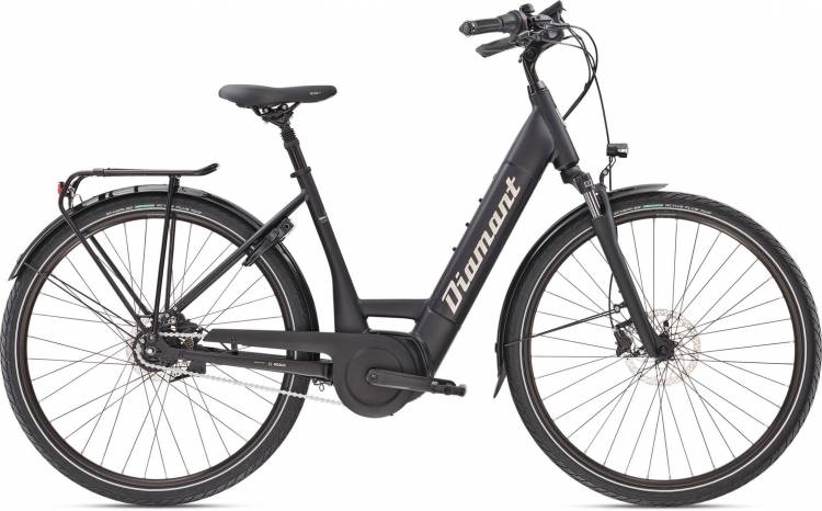 Diamant Beryll Deluxe+ TIE Tiefschwarz 2020 - E-Bike Trekkingrad Tiefeinsteiger