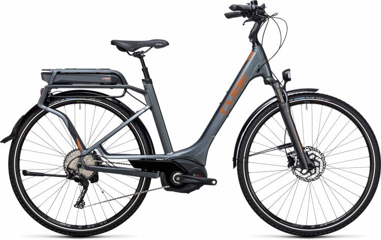 Cube Touring Hybrid EXC 500 grey n copper Easy Entry 2017