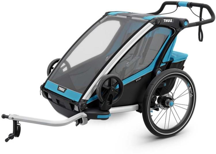 Thule Chariot Sport2 (Zweisitzer) blue