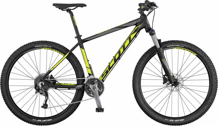 Scott Aspect 940 black/yellow/grey 2017