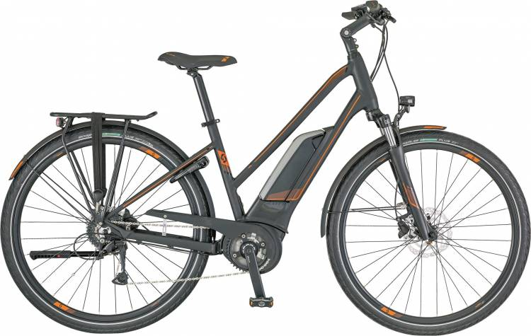 Scott E-Sub Active Lady 2018 - Damen Trapez E-Bike Trekkingrad