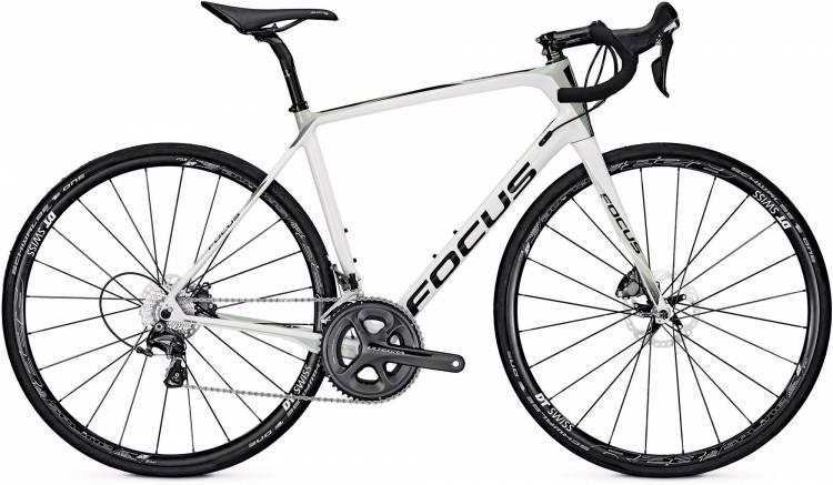 Focus Paralane Ultegra white/beige 2017 - Herren Carbon Rennrad