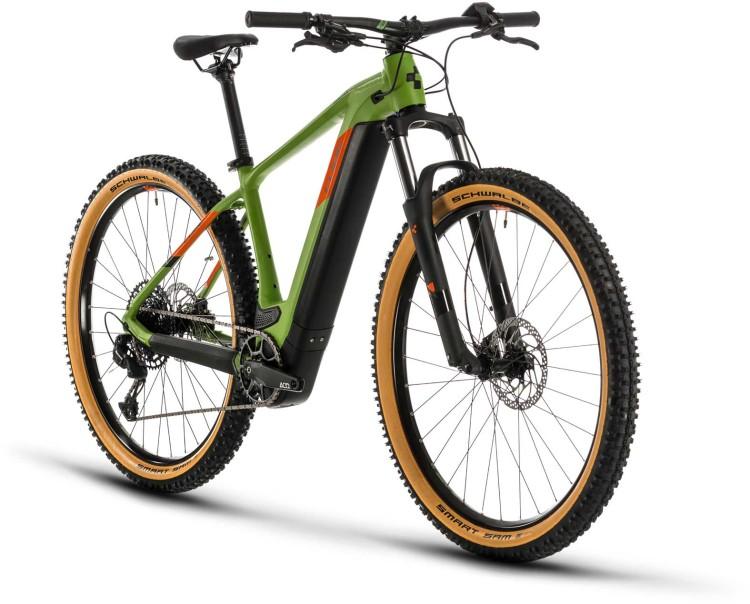 Cube Reaction Hybrid EX 500 29 green n orange 2020 - E-Bike Hardtail Mountainbike