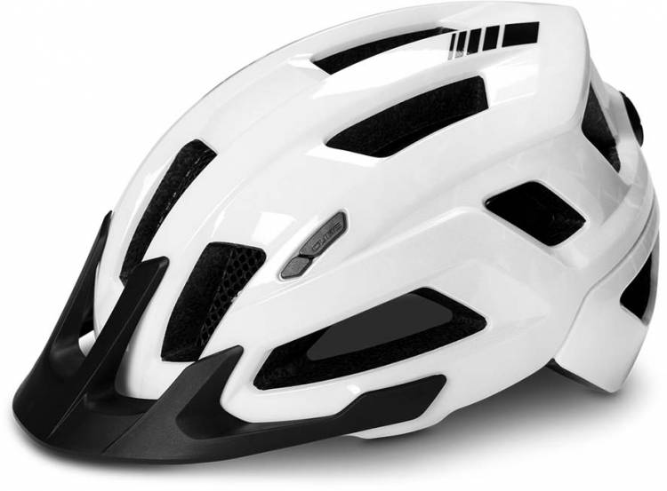 Cube Helm STEEP glossy white