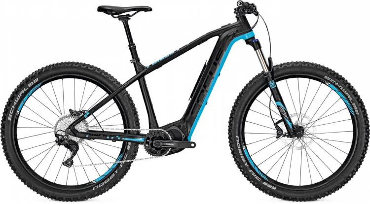 Focus Bold2 Plus 27 black/blue 2017 - E-Bike Hardtail Mountainbike