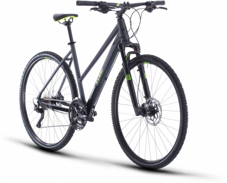 Cube Cross Pro iridium n green 2020 - Crossrad Damen