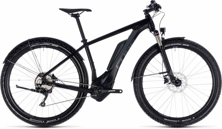 Cube Reaction Hybrid Pro Allroad 400 black n grey 2018 - E-Bike Hardtail Mountainbike