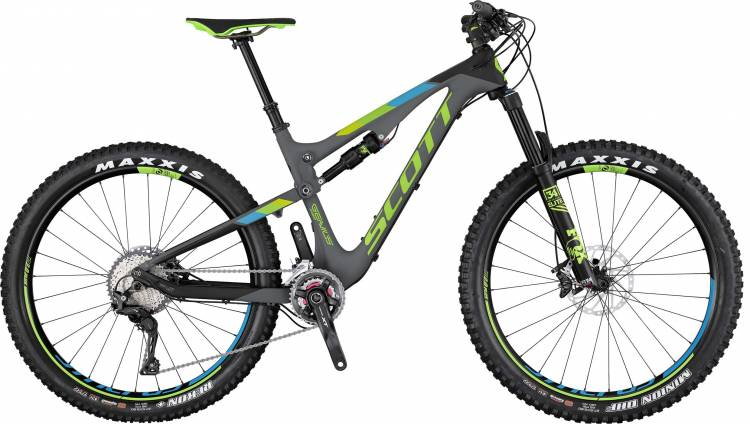 Scott Genius 710 Plus 2017 - Fully Mountainbike