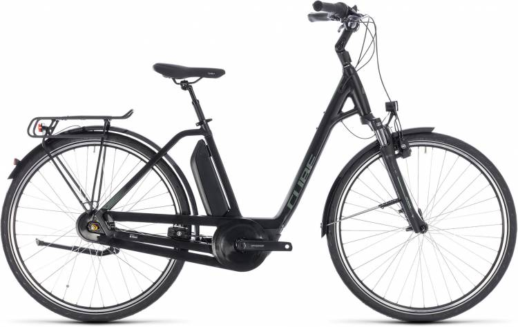 Cube Town Hybrid ONE RT 500 black n frostgreen 2018