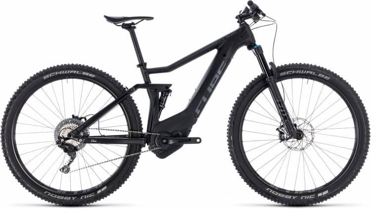 Cube Stereo Hybrid 120 HPC Race 500 black n grey 2018 - E-Bike Fully Mountainbike