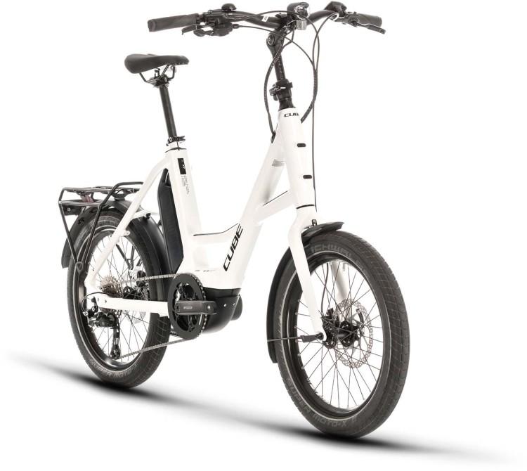"Cube 20"" Compact Sport Hybrid white n black 2020"