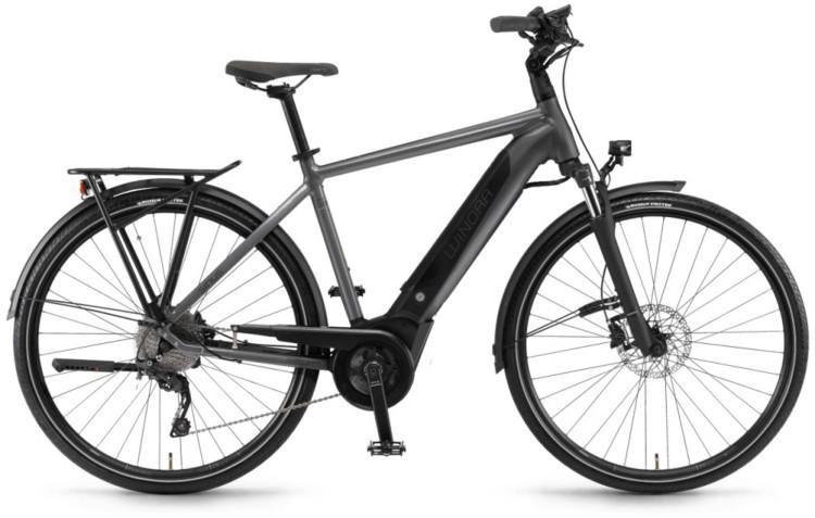 """Winora Sinus i9 500Wh 28"""" titan 2020 - E-Bike Trekkingrad Herren"""