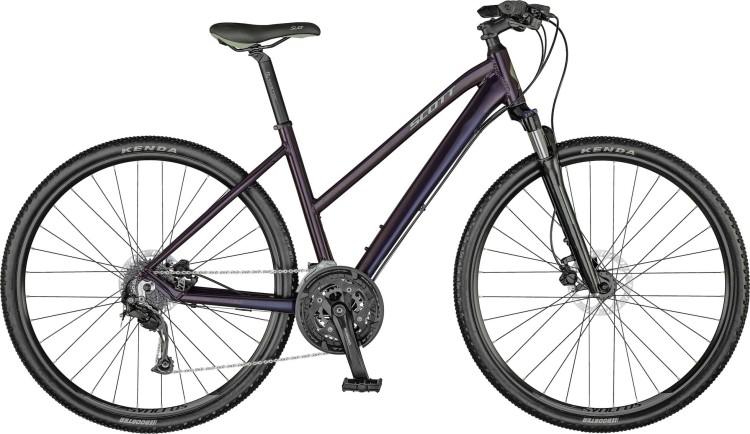 Scott Sub Cross 30 Lady violet black / majolica green 2021 - Crossrad Damen