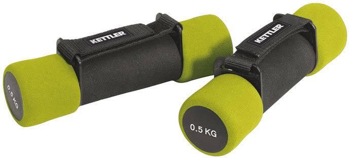 Kettler Aerobic Hanteln 2 x 0,5 Kg grün
