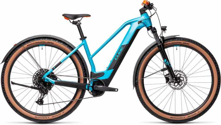 Cube Reaction Hybrid Pro 625 29 Allroad petrol n orange 2021 - E-Bike Hardtail Mountainbike Damen