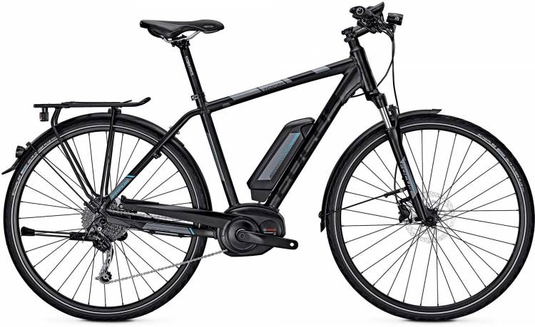 Focus Aventura Elite black 2017 - Herren E-Bike Trekkingrad