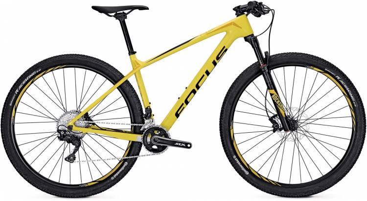 Focus Raven Elite 27 yellow 2017 - Hardtail Mountainbike