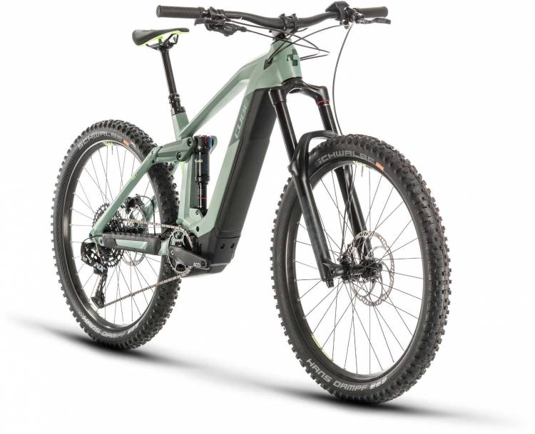 Cube Stereo Hybrid 160 HPC SL 625 27.5 green n sharpgreen 2020 - E-Bike Fully Mountainbike