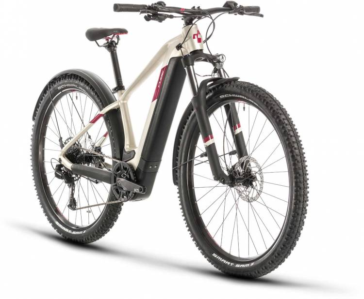 Cube Access Hybrid EX 625 Allroad 29 titan n berry 2020 - E-Bike Hardtail Mountainbike