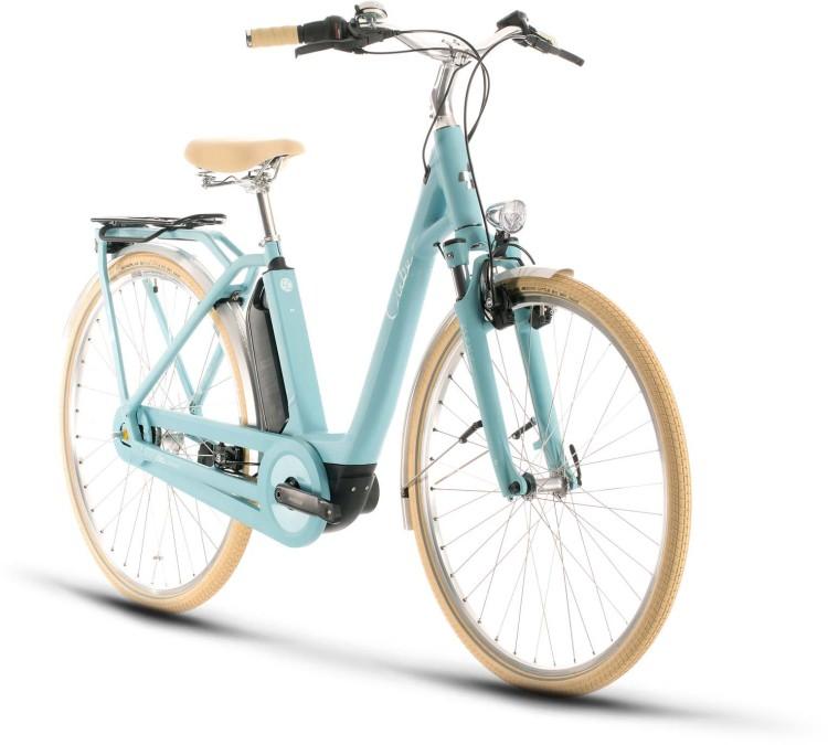 Cube Ella Cruise Hybrid 400 blue n blue 2020 - E-Bike Trekkingrad Tiefeinsteiger