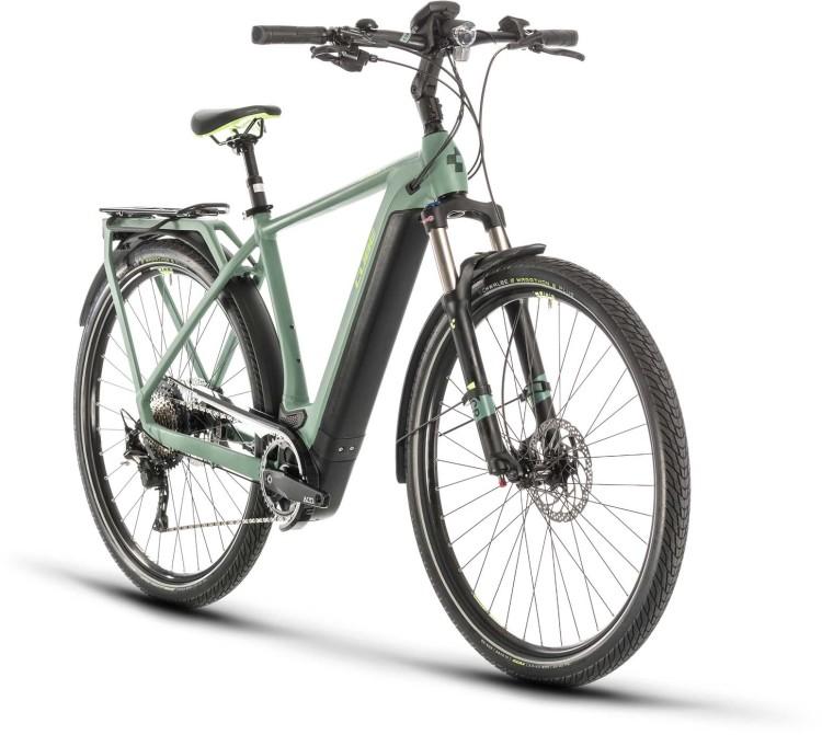 Cube Kathmandu Hybrid EXC 625 green n green 2020 - E-Bike Trekkingrad Herren