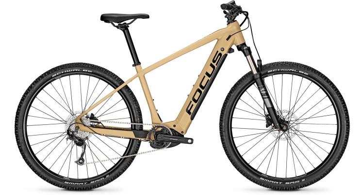 Focus Jarifa2 6.6 Nine Sandbrown 2021 - E-Bike Hardtail Mountainbike