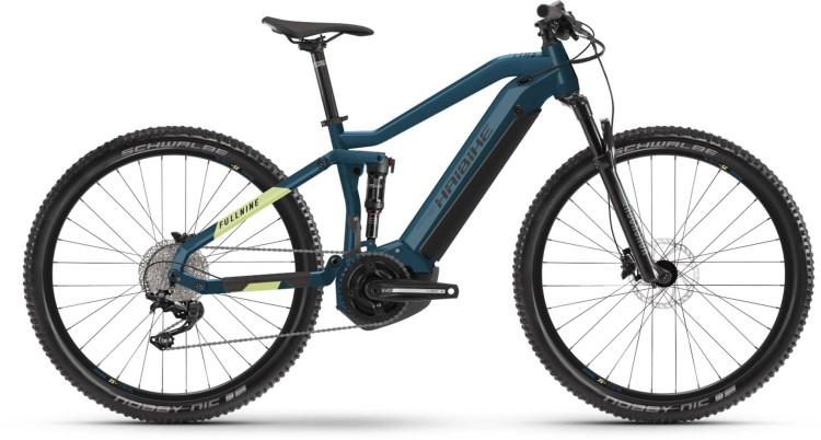 Haibike FullNine 5 i500Wh blue/canary 2021 - E-Bike Fully Mountainbike