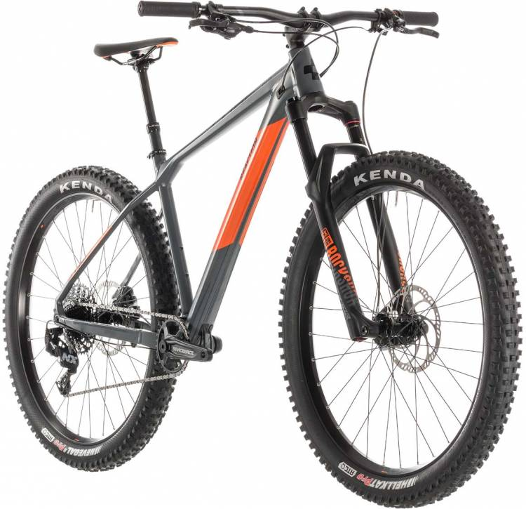 cube reaction tm pro grey n orange 2019 mountainbike. Black Bedroom Furniture Sets. Home Design Ideas