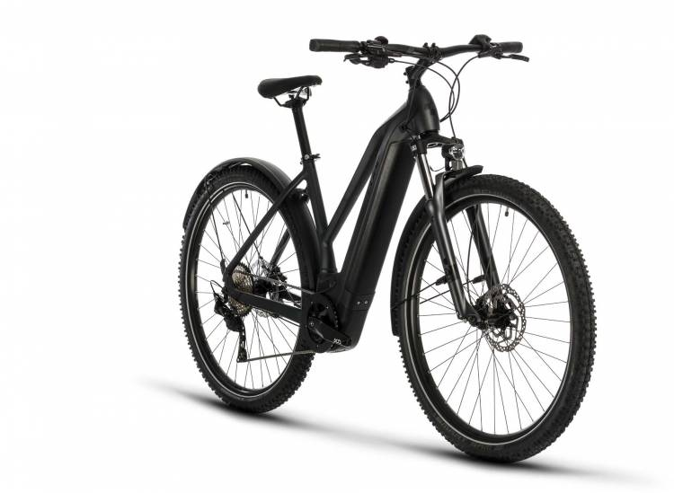 Cube Cross Hybrid Pro 625 Allroad iridium n black 2020 - E-Bike Crossrad Damen