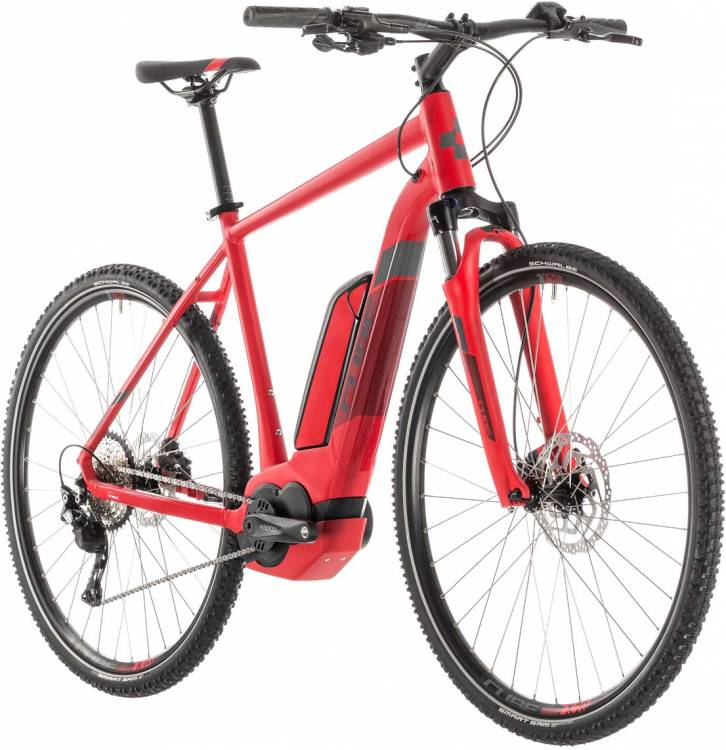 Cube Cross Hybrid Pro 500 red n grey - Herren 2019