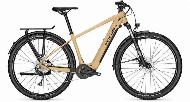 Focus Aventura2 6.6 Sandbrown 2020 - E-Bike Trekkingrad Herren