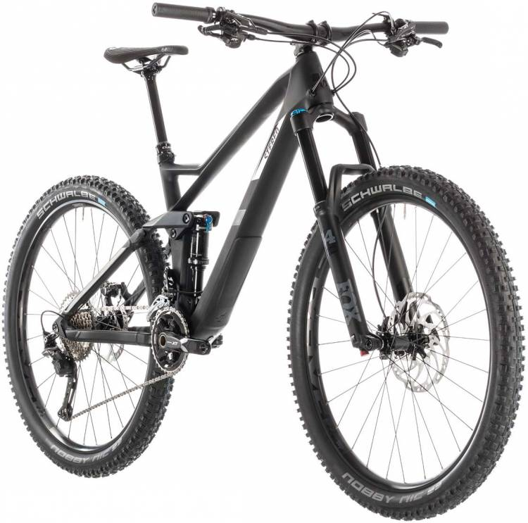 cube stereo 140 hpc sl 27 5 carbon n grey 2019 mountainbike fully g nstig bei mhw. Black Bedroom Furniture Sets. Home Design Ideas