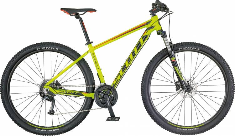 Scott Aspect 750 yellow/red 2018 - Hardtail Mountainbike