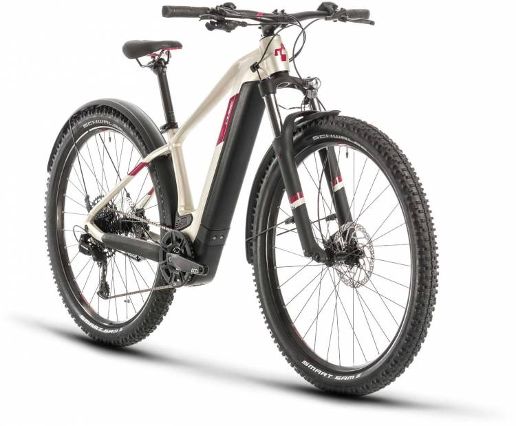 Cube Access Hybrid EX 500 Allroad 29 titan n berry 2020 - E-Bike Hardtail Mountainbike
