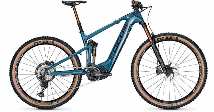 Focus Jam2 9.9 Drifter Heritage Blue 2020 - E-Bike Fully Mountainbike