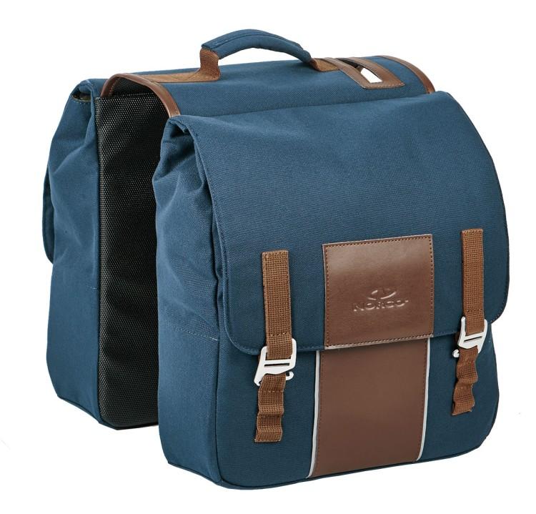 Norco Picton Doppeltasche blau 36x32x11cm