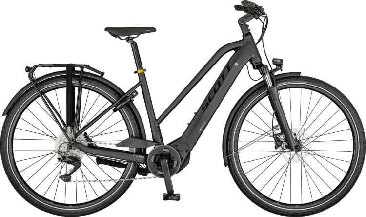 Scott Sub Sport eRIDE 20 Lady dark grey / gold polished / black 2021 - E-Bike Trekkingrad Damen