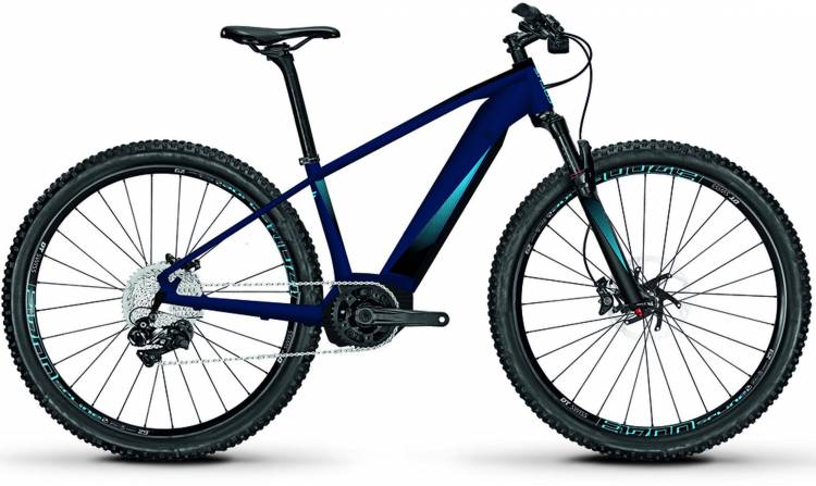 Focus Jarifa2 29 sealblue matt 2018 - E-Bike Hardtail Mountainbike