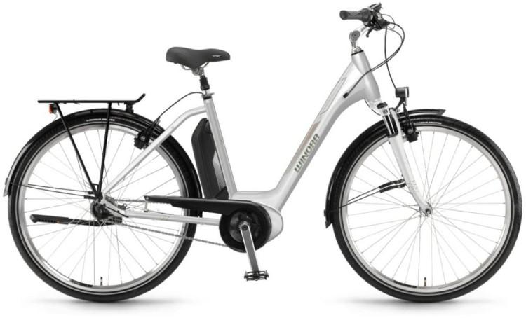 """Winora Sima N7f 400Wh 28"""" weiß 2018 - Tiefeinsteiger E-Bike Trekkingrad"""