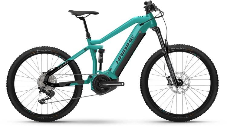 Haibike AllMtn 1 i630Wh aquamarine/black 2021 - E-Bike Fully Mountainbike