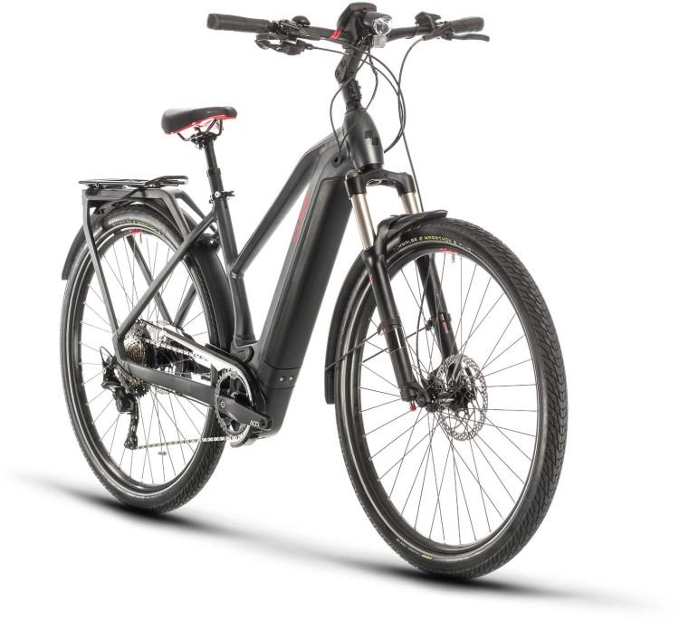 Cube Kathmandu Hybrid EXC 500 iridium n red 2020 - E-Bike Trekkingrad Damen